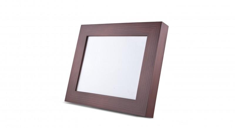 Urna marco madera